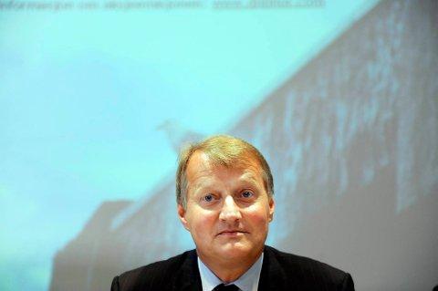 DnB Nor-sjef Rune Bjerke.