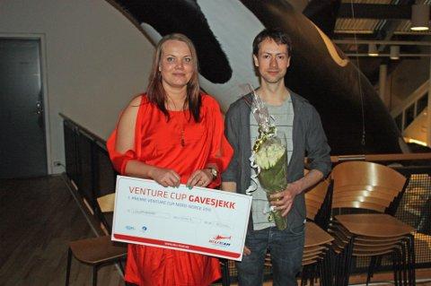Vinnerne Alida Midtbø og Jannick Kehtle