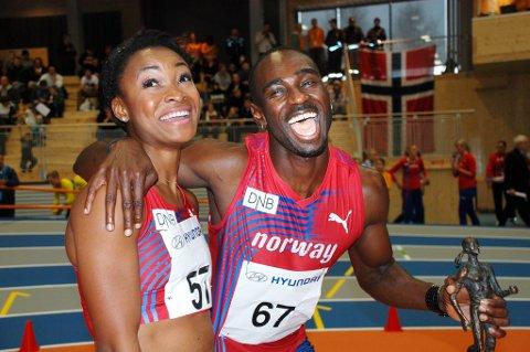 Sprinterne Ezinne Okparaebo og Jaysuma Saidy Ndure er to av mange norske friidrettsutøvere på rekordjakt denne sesongen.