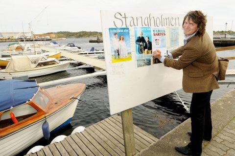Dag Eikeland har programmet for Stangholmen på plass for 2012.