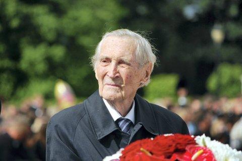 Gunnar Sønsteby døde 94 år gammel.