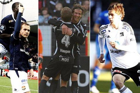 Øyvind Storflor, Christoffer Dahl og Torgeir Børven scorte alle vakre mål 16. mai.