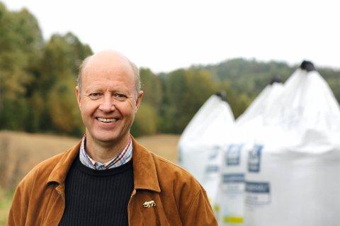 Yaras konsernsjef Jørgen Ole Haslestad.