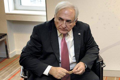 Dominique Strauss-Kahn, tidligere sjef for pengefondet IMF.