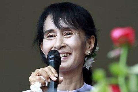 Aung San Suu Kyi besøker Norge i sommer.