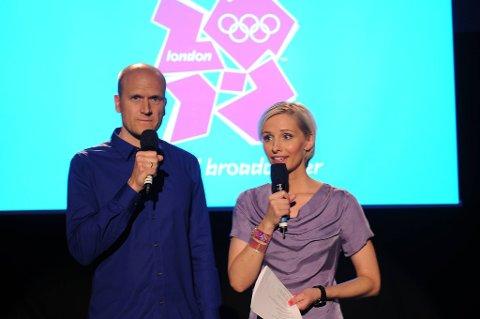 Pål Gordon Nilsen og Anne Rimmen skal lede OL-sendingene.