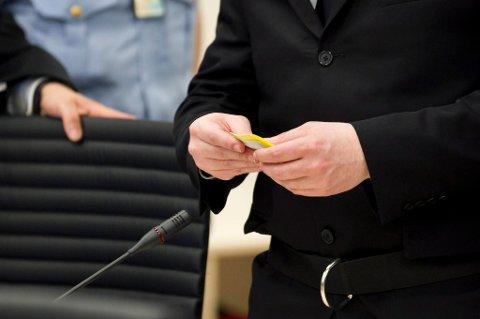 Anders Behring Breivik ba om ordet i retten mandag.