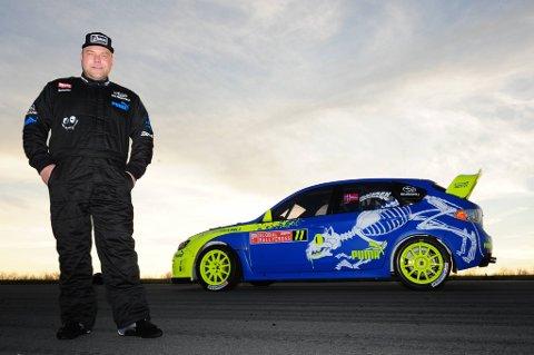 Sverre Isachsen (41) fra Hokksund har vunnet EM i rallycross de tre siste årene. Nå venter nye utfordringer i USA.