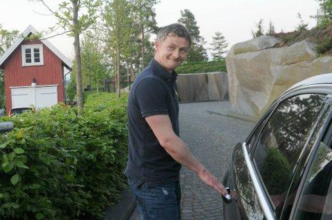 Ole Gunnar Solskjær smilte etter møtet med investorene.
