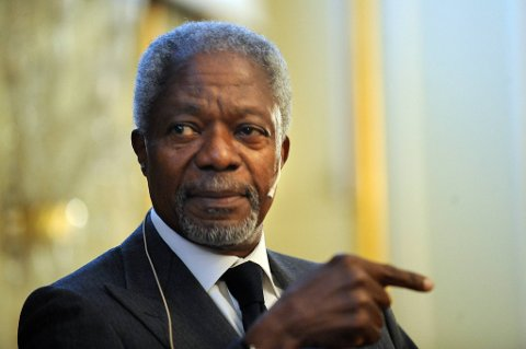 Spesialutsending Kofi Annan er frustrert over situasjonen i Syria.