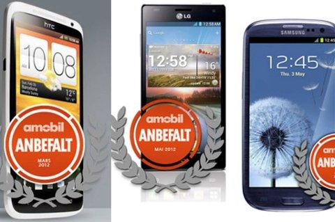 Mobilen.no har laget en oversikt over de ti råeste smartmobilene på markedet akkurat nå.