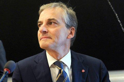 Utenriksminister Jonas Gahr Støre (Ap).
