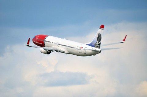 Flere passasjerer flyr med Norwegian.