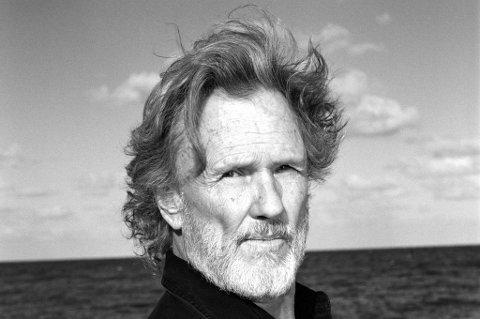 VERDENSSTJERNE: Kris Kristofferson holder konsert i Ullensaker kulturhus 7. november. Artisten er også skuespiller og har blant annet spilt i hele Blade-trilogien (1998 til 2004).
