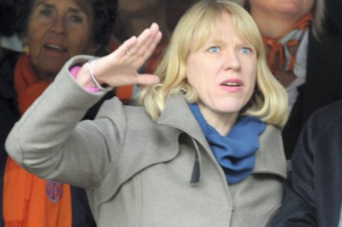 Anniken Huitfeldt vil at idretten skal få 64 prosent av tippeoverskuddet.