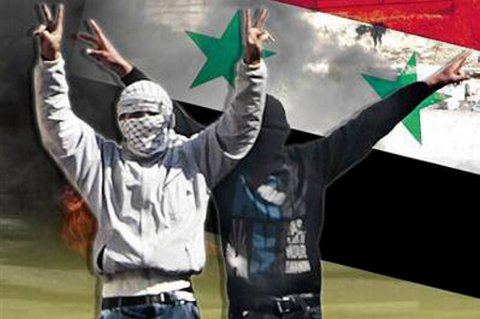 Minst 23 er drept i nye angrep i Syria,  ifølge aktivistgruppa Syrian Observatory for Human Rights.