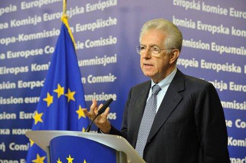 Italias statsminister Mario Monti.