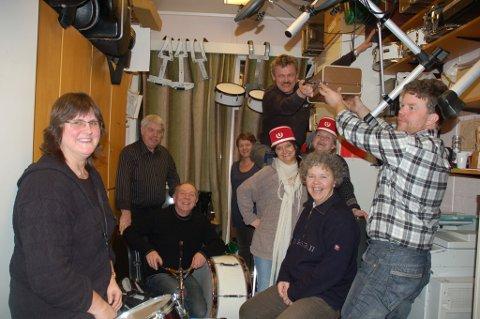 Arkivbilde fra 2010 da prosjektgruppa for Musikkens Hus i Gjerstad gikk i gang med sine planer. Nå har det kommet en halv million kroner i tilskudd, og da blir det fortgang i prosjektet. FOTO: Svein Walstad