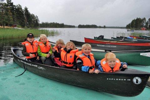 KANOGJENG: Denne gjengen fra Gjøvik koste seg på Fjorda i fjor høst, og planlegger ny tur i år.