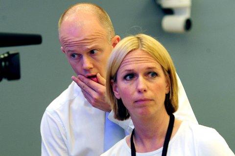 Statsadvokatene Inga Bejer Engh og Svein Holden.