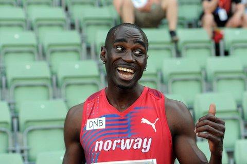 Jaysuma Saidy Ndure er en av 28 nordmenn som skal til EM i friidrett.