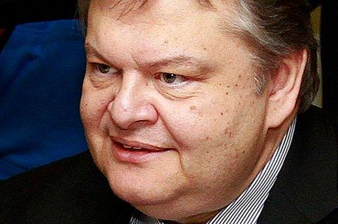 Regjeringen er en bred koalisjon, opplyser partisjef Evangelos Venizelos.