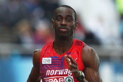 Jaysuma Saidy Ndure står over 200-meteren i EM.