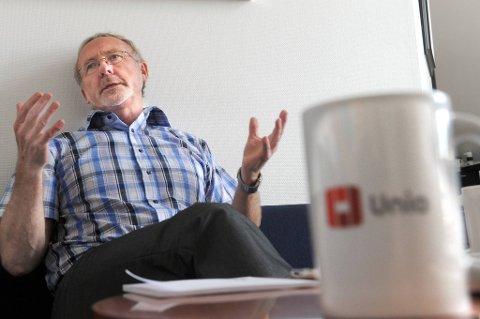 Unio-leder Anders Folkestad går i rette med kritikken fra Fellesforbundets leder Arve Bakke.