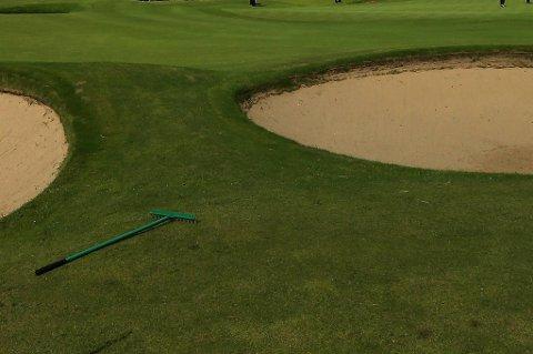 Tre tyskere ble trugget av lynet på en golfbane og mistet livet. (Illustrasjonsfoto)
