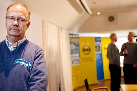 LSK-leder Per Mathisen har kvittet seg med tre ledere siden 2006. Nå sier han at trener Magnus Haglund får beholde jobben til tross for de elendige reultatene. FOTO: LISBETH ANDRESEN