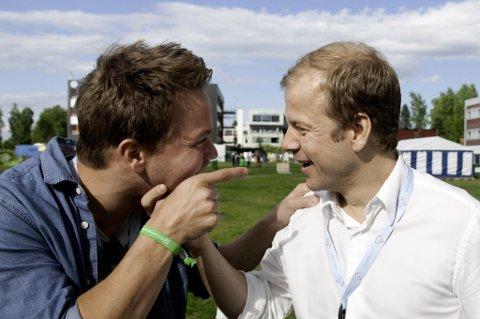 Kasper Landmark utfordret utviklingsminister Heikki Holmås