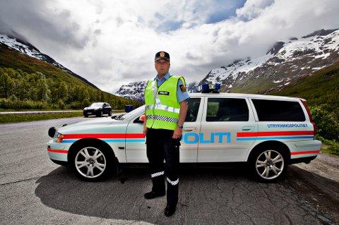 UP-SJEF: Geir Marthinsen, distriktsleder for Utrykningspolitiet i Troms og Finnmark.