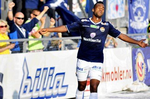 Ola Kamara scoret Strømsgodsets to siste mål for dagen