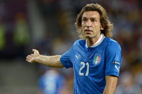Andrea Pirlo storspilte i EM, men blir ikke Bayern München-spiller. Det er iallfall det klubben hevder.