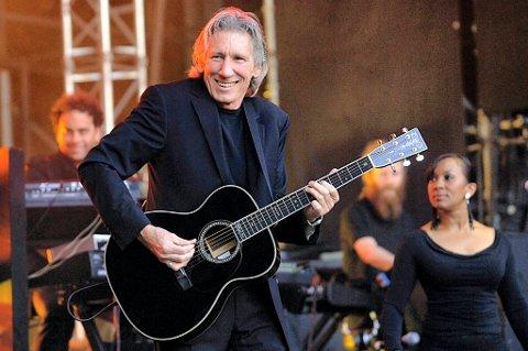 En av grunnleggerne til Pink Floyd, Roger Waters, på scenen under Norwegian Wood i 2006.