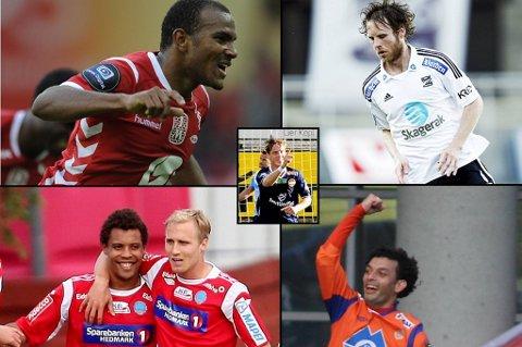 Rodolph Austin, Simen Brenne, Stefan Johansen, Olav Tuelo Johannesen og Michael Barrantes er blant kandidatene denne runden.
