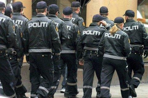 Det blir mer politi ute i gatene denne helga.