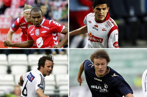 Austin, Elyonoussi, Brenne og Stokkelien skal alle prøve å lede et hjemmelag til seier i dag.