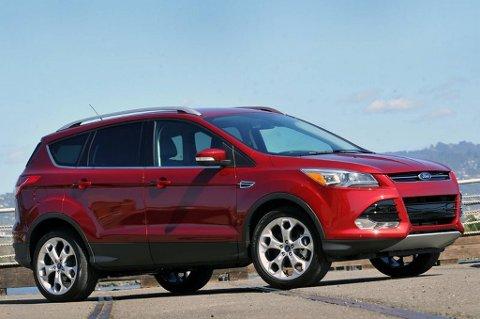 Ford Escape er søstermodellen til kommende, andre generasjon Kuga. Nå rydder Ford unna barnesykdommene i USA.