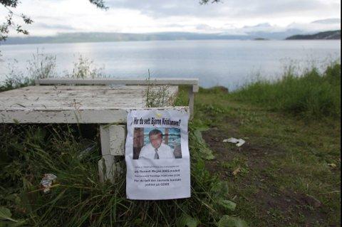 Bjarne Kristiansen har vært savnet siden torsdag i forrige uke.