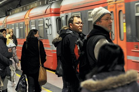 Oslo S åpner for alle tog førstkommende mandag.