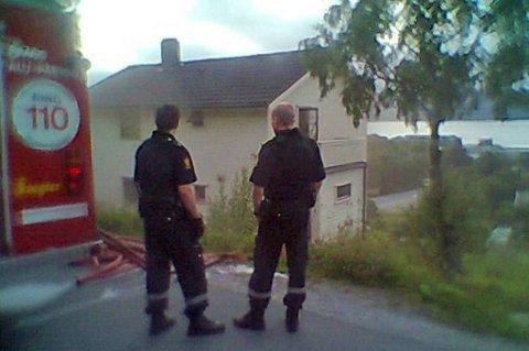 Brannen i et bolighus i Sandnessjøen søndag kom fort under kontroll.