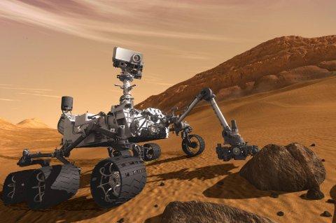Etter en tur på over en halv milliard kilometer landet det amerikanske kjøretøyet Curiosity på Mars mandag morgen.