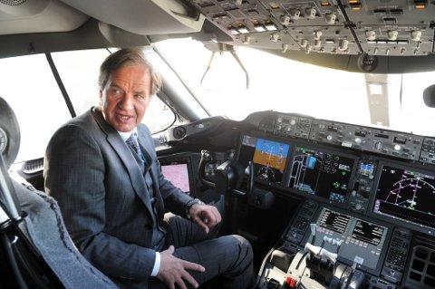 Jeg er svært godt tilfreds med trafikktallene i juli,  sier direktør Bjørn Kjos i Norwegian.