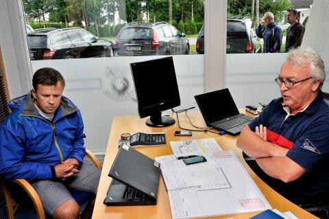 Sjur Robert Nilsen slutter i Sparta, her sammen med Morten Carlsson.