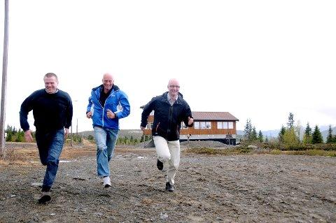 PRIMUS MOTORAR: Bjørnar Bakken og Audun Skattebo.