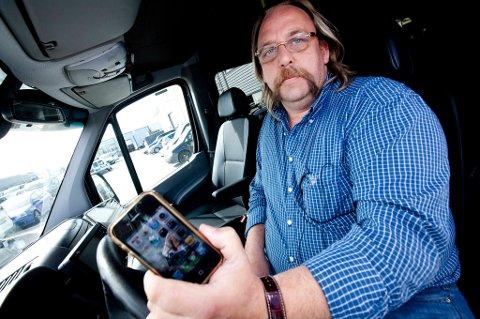 Systemet er ikke trygt nok, mener daglig leder Dag Bakke i Øvre Romerike Taxi.