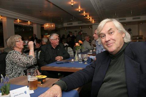 Mimret. Ivar Antonsen mimret og holdt sin egen konsert på Fauske hotell fredag kveld.