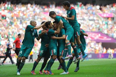 Mexico-spillerne kunne juble etter at de sikret landet sitt OL-gull lørdag.