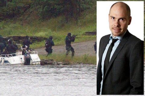 """GROVESTE FEIL: """"Den groveste feilen Jens Stoltenberg har gjort er at han før 22. juli forholdt seg til truslene på samme måte som norsk offentlighet for øvrig."""", skriver Nordlys' sjefredaktør, Anders Opdahl"""
